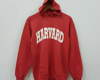Vintage 80's HARVARD red hoodies