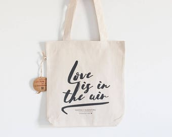 "Custom Fabric Bag Model ""Love"""