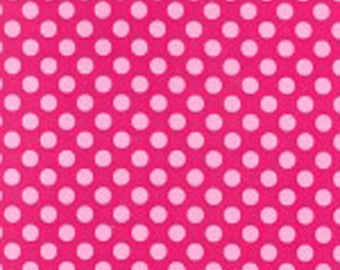 Confection Pink Ta Dots Fabric - Michael Miller Fabric