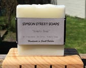 Simply Soap (Handmade, Uncolored, Unscented, Plain Soap)