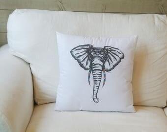 Cushion Elephant Illustration