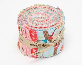 Riley Blake Designs, Rolie Polie - Tree Party by Kelly Panacci