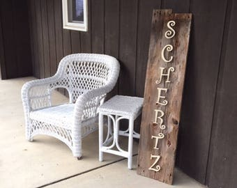 Personalized BarnWood Sign