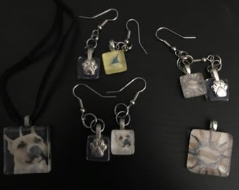 Glass Jewelry & Magnets