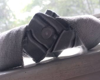 Office Collar, Gray, For Large Dogs