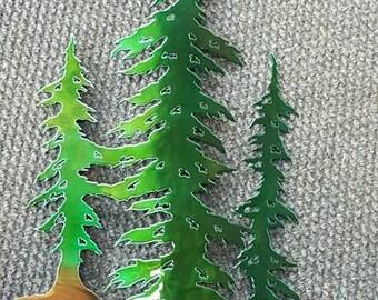 Three Trees Art Medium