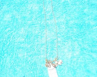 Birdcage Charm Necklace