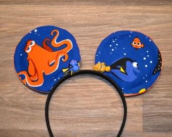 Finding Dory Ears - Disney Inspired Finding Dory Ears - Nemo Ears - Dory Mickey Ears - Nemo Mickey Ears - Disney Finding Dory Mickey Ears