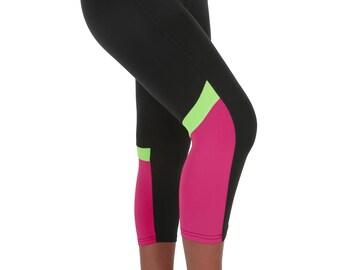 Verscos Women's Stretch Capris Cropped Tight Leggings 5014