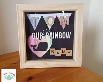 Rainbow Baby Keepsake