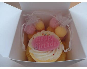 Happy Birthday bath bomb gift set