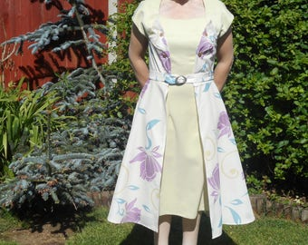 Handmade reproduction of beautiful vintage style dress