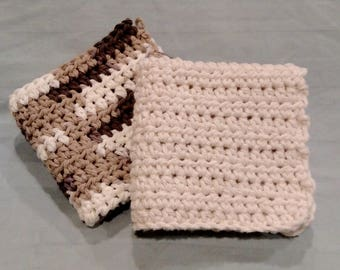 Crocheted Dishcloths set of 2
