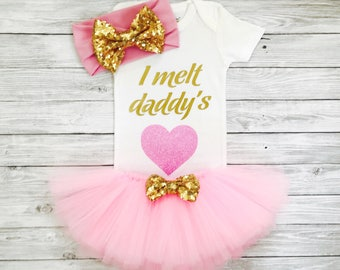 Baby Clothes, Baby Girl Outfits, Baby Girl Dresses, Baby Girl Gift, Newborn Girl Clothes, Newborn Girl, Daddys Girl, Baby Girl Clothes Daddy