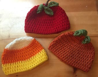 Baby 0-3 Months Fall Hat Set