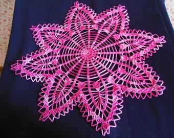 """Round crochet doily """"Gabrielle"""""""