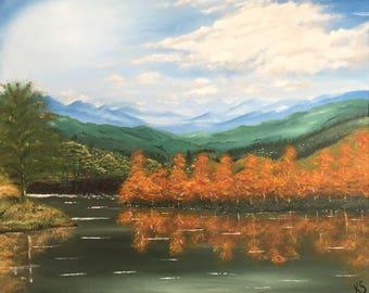Original Landscape Acrylic Painting