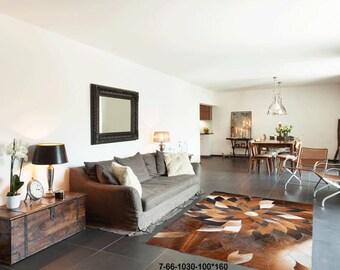 Modern Carpet Cowhide Rug 7-66-1030-100*160