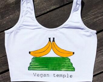 Vegan temple bananas top