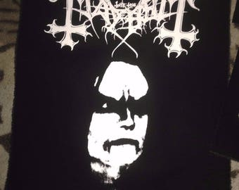 True Mayhem Euronymous Back Patch