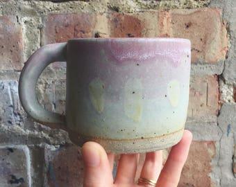 blush pink mug