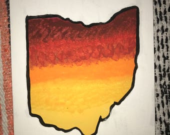 Ohio Sunset Painting