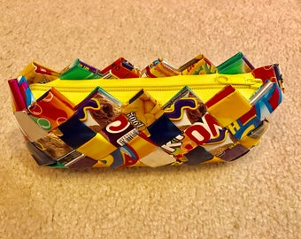 Recycled Candy Wrapper Clutch