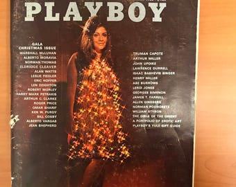 1968 Playboy Gala Christmas Issue