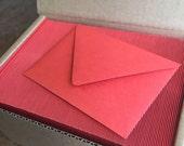 Wholesale set 50 4bar persimmon envelope Paper Source