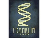 Rosalind Franklin Rock Star Scientist Sticker