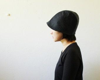 WOOL HAT / women / men / unisex / modern / beanie / cloche / reversible / autumn / winter / made in australia / pamelatang