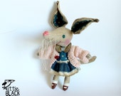 Bilby, Delia, cloth doll, primitive art doll