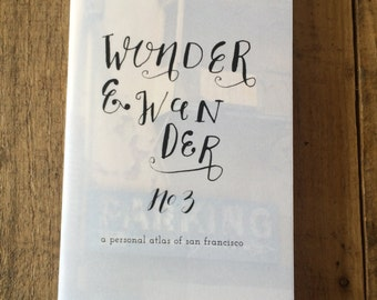 wonder and wander #3: a personal atlas of sf