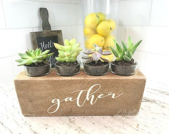 Wooden Sugar Mold - Sugar Mold - Votive Candle Holder - Planter - Table Centerpiece - Mexican Sugar Mold - Monogrammed Sugar Mold