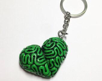 Smart Heart Keychain- Alien