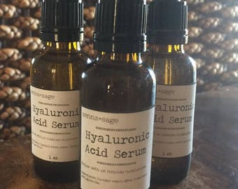 Hyaluronic Acid Serum.... 1 ounce...