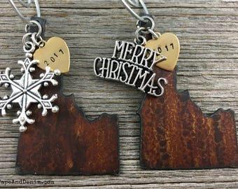 IDAHO Christmas Ornament, IDAHO Ornament, Christmas Gifts 2017, Personalized Gift, State Christmas Ornaments, IDAHO Ornaments