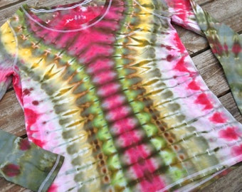 Womens XL Long Sleeve Tie Dye Shirt