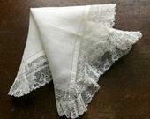 Antique Wedding Handkerchief