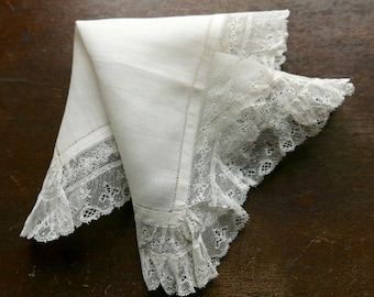 Antique Wedding Handkerchief