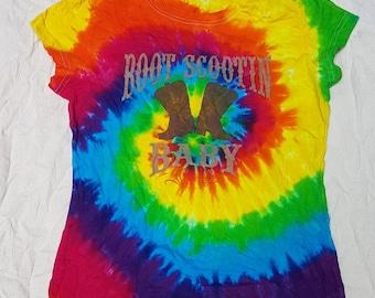 Tie Dye T-Shirt - Ladies Medium/ Youth Large
