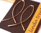 Hoop Sale! Criss Cross Threader Hoops. Threader Earrings. Gold Open Hoops. Gold Threader Earrings. Rose Gold Open Hoops. Silver Open Hoops