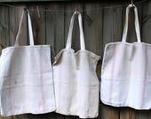 Reserved - Grainsack Market Bag - Heavy Cotton Tote Bag - Market Tote - Eco Grocery Bag - Reusable Shopping Bag