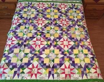 Bonnie Hunter En Provence Cotton Quilt