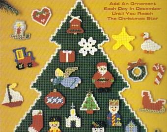 Advent Tree ~ plastic canvas leaflet ~  New