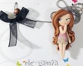 little sweet clay doll
