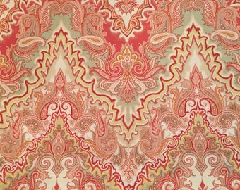 """Waverly fabric approx 3 yards 109"""" long x 54"""" wide"""
