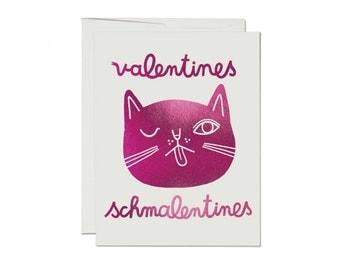 Valentines Schmalentines - Greeting Card
