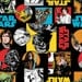 Star Wars Character Flannel, Camelot Fabrics- FLANNEL- Yard