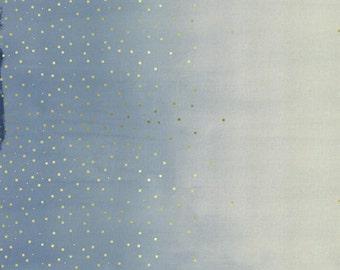 Jubilee Confetti in Blue Metallic by Melody Miller For Cotton+Steel